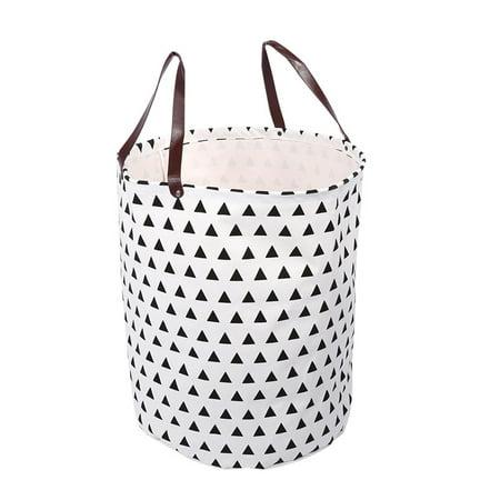 Laundry Bags With Handles Best Large Laundry Hamper Bin Bucket Storage Basket Canvas Handbag