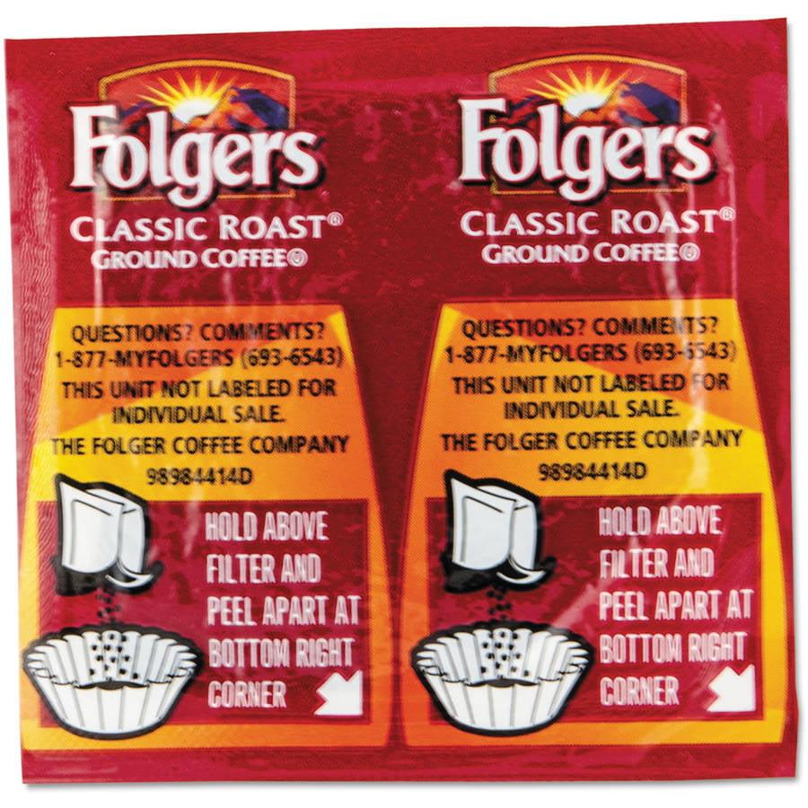 Folgers Classic Roast Ground Coffee, 42ct