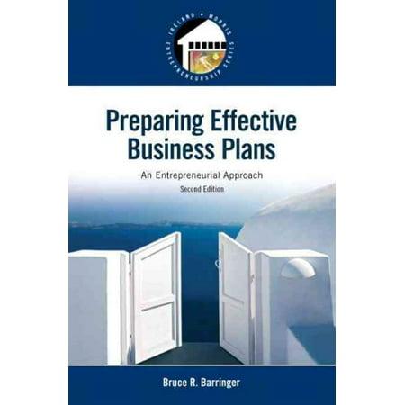 Preparing Effective Business Plans