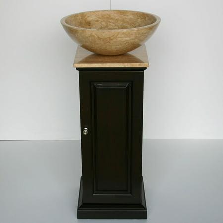 Adjustable Pedestal Vanity - Silkroad Exclusive 16.5