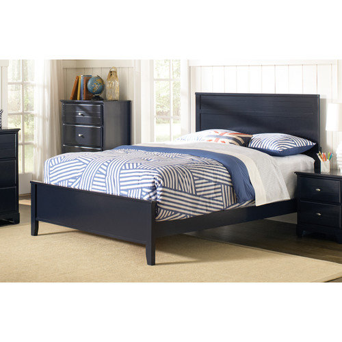 Wildon Home  Caleb Uphostered Panel Bed