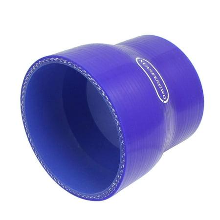 64mm pour 76mm Droit Turbo Réducteur Tuyau Silicone Coupleur Bleu - image 1 de 1
