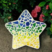 Milestones Mosaic Star Stepping-Stone Kit