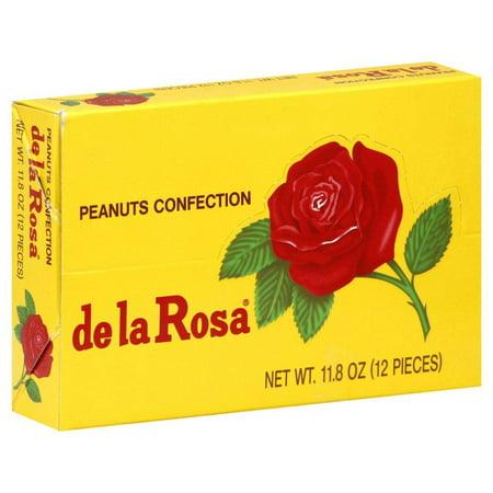 De La Rosa Mazapan, Small Box 1.0 OZ (Pack of 12) (Best Mazapan De Pili)