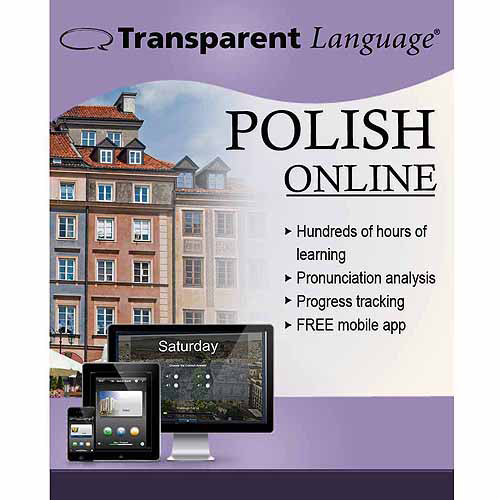 Transparent Language Online Polish (12 Month) (Digital Code)