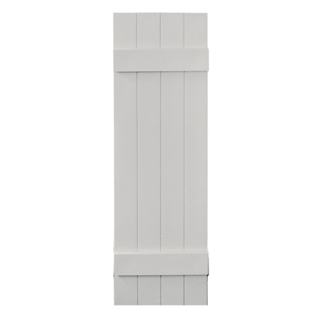 Builders Edge 14W in Closed Board N Batten Vinyl Shutters