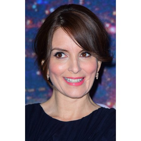 Tina Fey At Arrivals For Saturday Night Live Snl 40Th Anniversary Stretched Canvas -  (8 x 10) - Saturday Night Fever Suit
