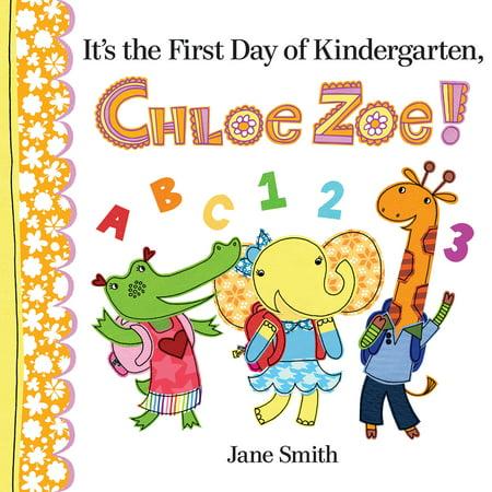 It's the First Day of Kindergarten, Chloe Zoe! - 1st Day Of Kindergarten