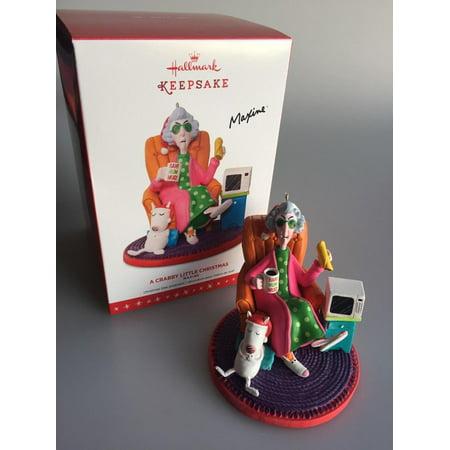 Hallmark Ornament 2016 Crabby Little Christmas - MAXINE EVENT EXCLUSIVE -  LOW PRODUCTION - Hallmark Ornament 2016 Crabby Little Christmas - MAXINE EVENT
