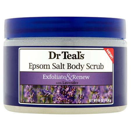 Dr Teals Epsom Salt Body Scrub With Lavender  16 Oz