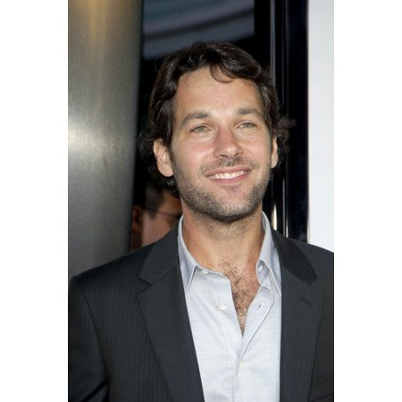 Paul Rudd At Arrivals For The 40 Year-Old Virgin Premiere The Arclight Cinema Los Angeles Ca August 11 2005 Photo By Michael GermanaEverett Collection Celebrity