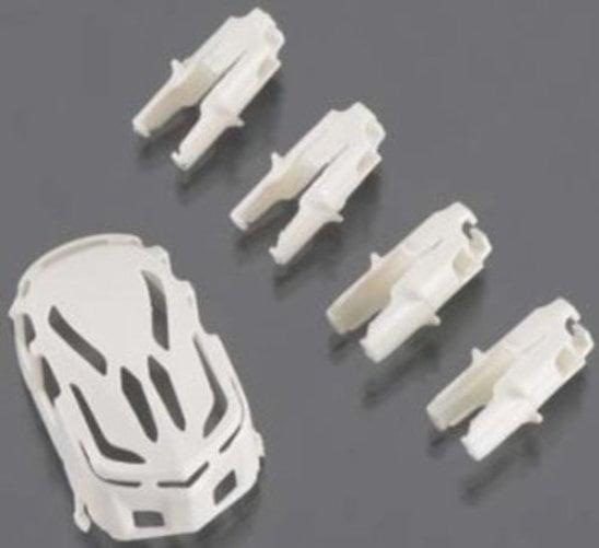 Estes Body Motor Holder Set White Proto X Syncro by