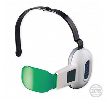Bandai Dragon Ball Z Cosplay Warrior Adjustable Green Lens Scouter - Dragon Ball Z Green Guy