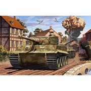 Academy 13287 Tiger I Mid-Production 'Normandy 75th Anniversary' 1/35 Scale Kit