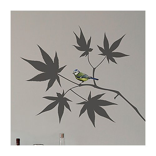 Brewster Home Fashions Euro Japanese Maple Wall Decal