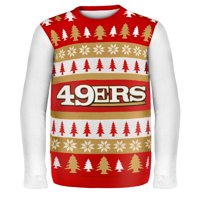 San Francisco 49Ers Wordmark NFL Ugly Sweater X-Large 0a9db3521