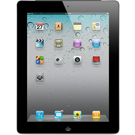 Apple iPad 2 Tablet MC775LL/A 64GB Wifi + 3G AT&T, Black (Refurbished) (Ipad Mini 64 Gb Wifi 3g)