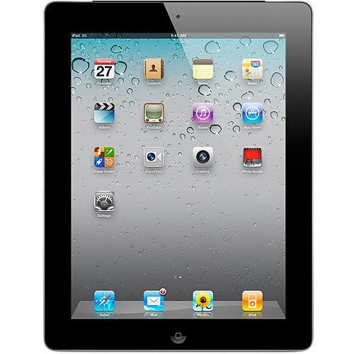 Apple iPad 2 Tablet MC775LL/A 64GB Wifi + 3G AT&T, Black (Refurbished)