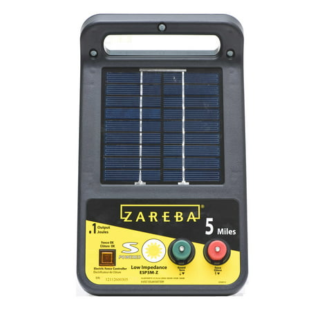 Zareba 5-Mile Solar Low Impedance Electric Fence