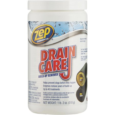 Zep Commercial Drain Care Crystal Drain Cleaner Walmart Com