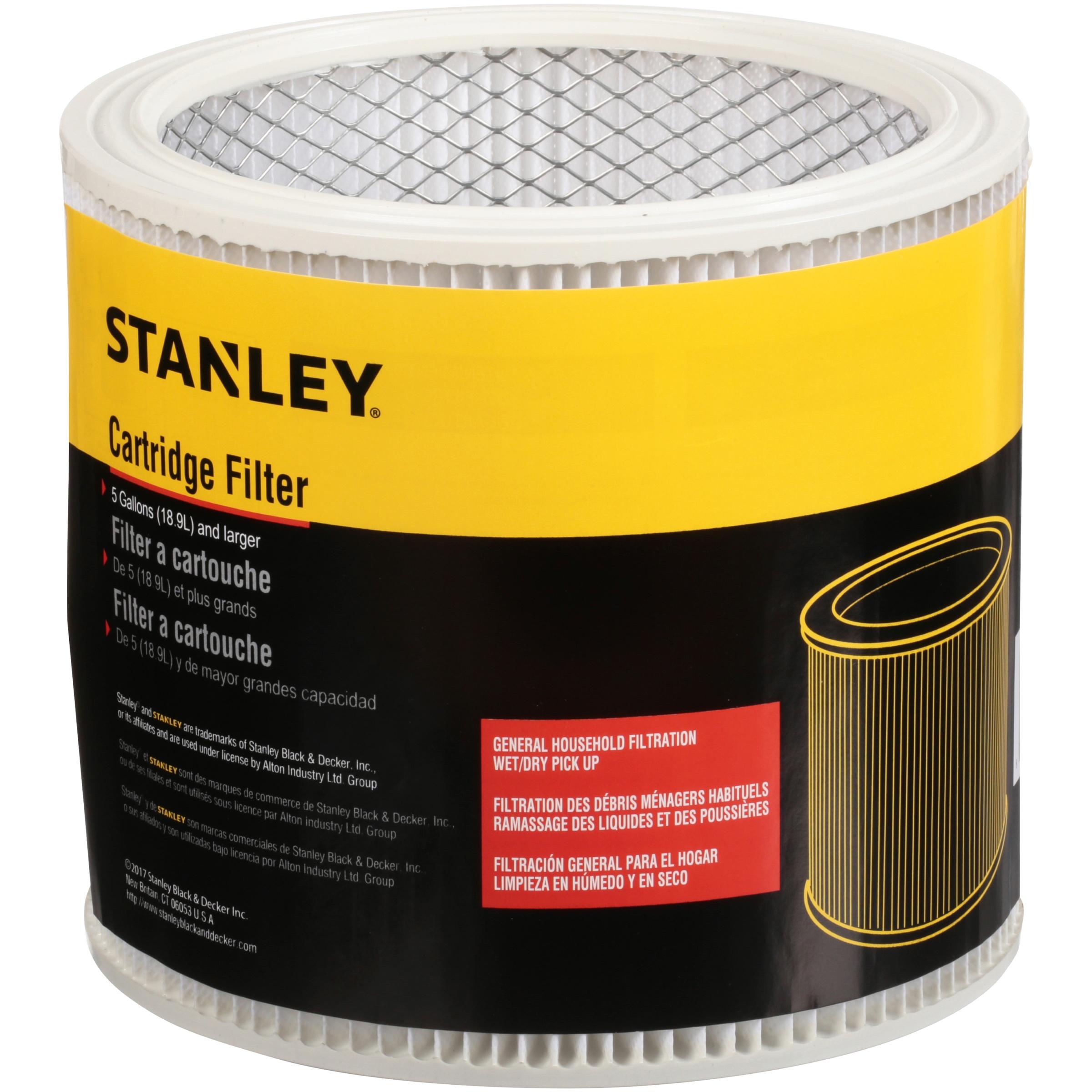 Stanley Cartridge Filter for 7-18 gal Vacuum