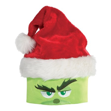 Amscan The Grinch Santa Hat, Christmas Costume Accessory, One Size ()