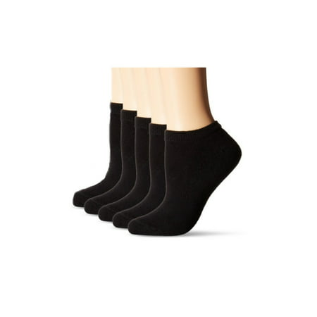 Women's Comfortable Black Casual Ankle Socks, 3 Pack (Sock Size - Soxs Stock
