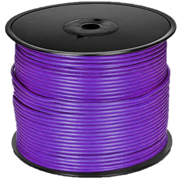 1000' Stranded - CAT5e (350 MHz) Network Cable - FT4 - Purple - Bafo - image 1 de 1