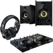 Hercules 4-mx Dj Console, Headphones, Dj