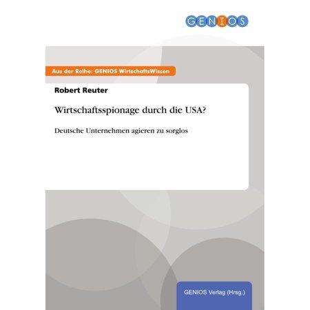 Wirtschaftsspionage durch die USA? - eBook (Usa Dye)