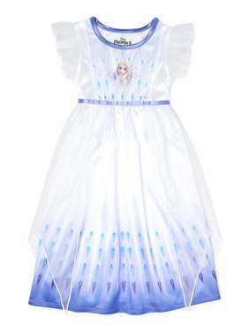 Frozen 2 Girls Short Sleeve Nightgown, Sizes 4-12