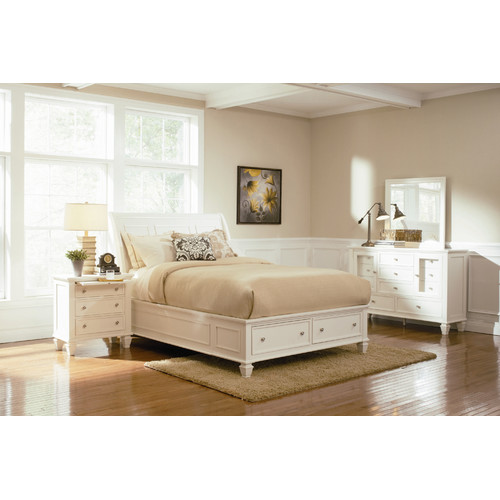 Wildon Home  South Berwick Upholstered Sleigh Bed