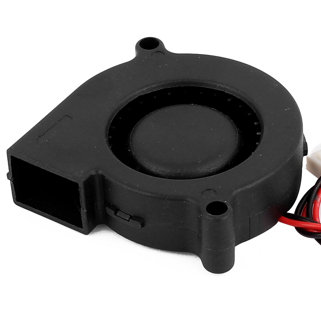 DC Brushless 2 Wires Case Cooling Blower Fan 50x50x15mm Black DC 24V 2Pcs - image 1 of 3
