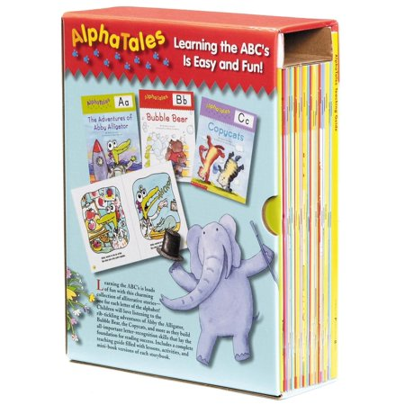 Alphatales: AlphaTales: A Set of 26 Irresistible Animal Storybooks That Build Phonemic Awareness & Teach Each Letter of the Alphabet - Bubble Alphabet Letters