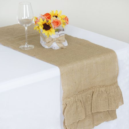 Burlap Wedding Decorations (BalsaCircle Natural Brown 14