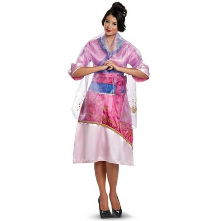 Mulan Deluxe Adult Costume](Mulan Disney Costume)