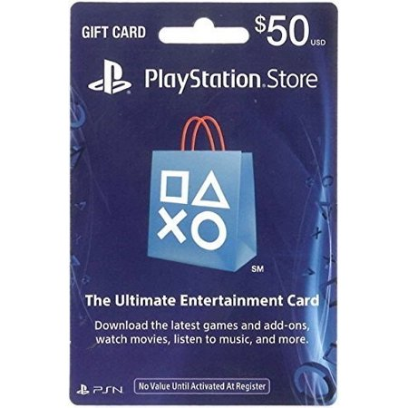 $50 PlayStation Store Gift Card, Sony, [Physically Shipped (Debenhams Store Locations)
