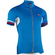 Men's Forza Cycling Jersey: Cyan LG