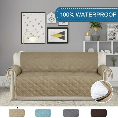 Astounding Pet Friendly 100 Waterproof Plush Furniture Protector For Dogs Cats Protect From Pets Spills Wear And Tear Sofa Taupe 75 X 112 Ocoug Best Dining Table And Chair Ideas Images Ocougorg