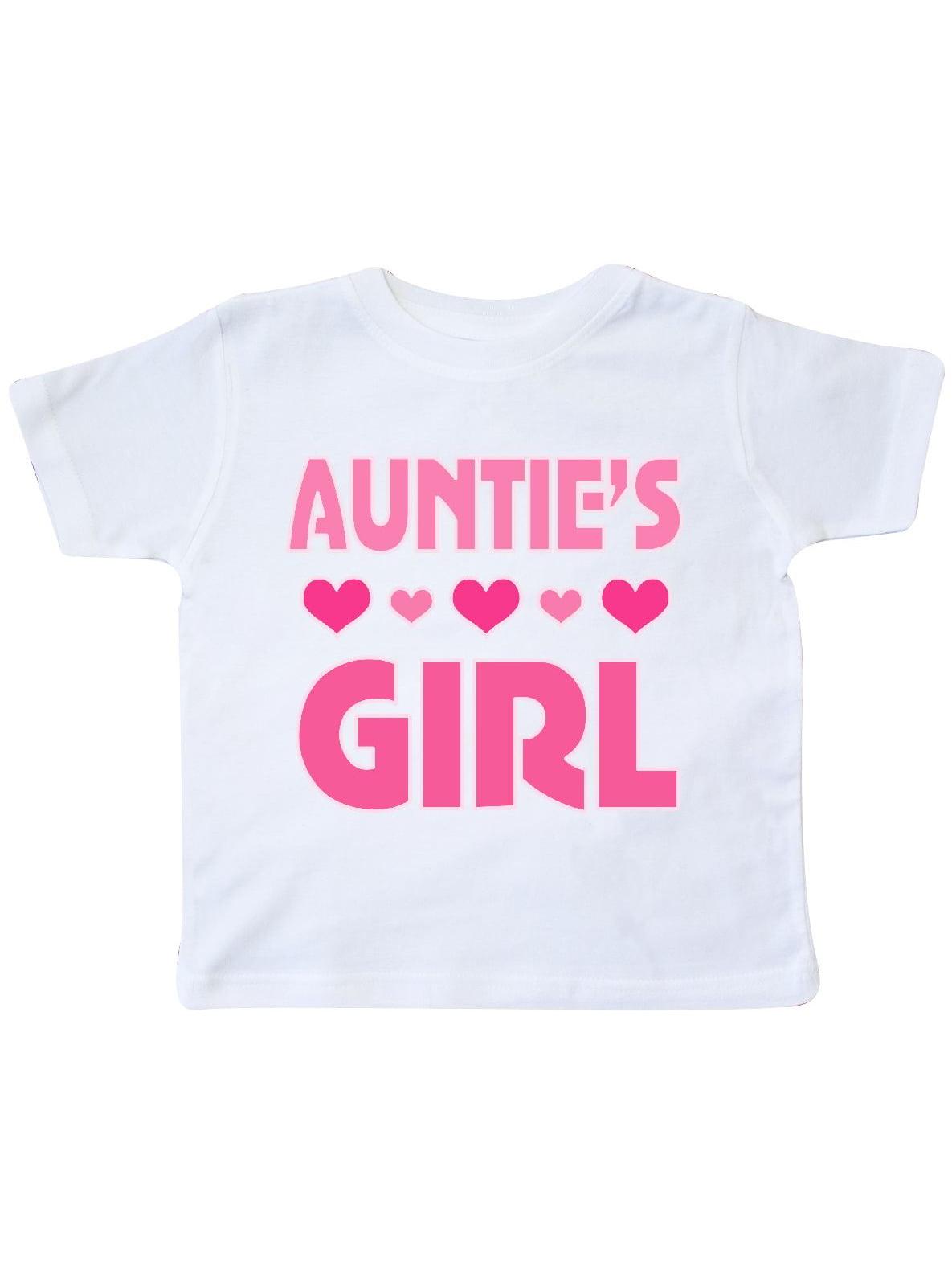 Auntie Girl Niece Gift Toddler T-Shirt