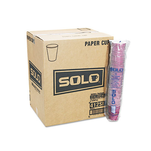Solo Cups Company Bistro Design Hot Drink Cups, 12 Oz., 50/Pack (Set of 2)
