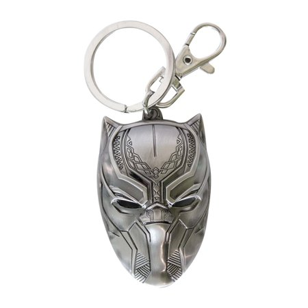 Black Panther Keychain - Carolina Panthers Keychain