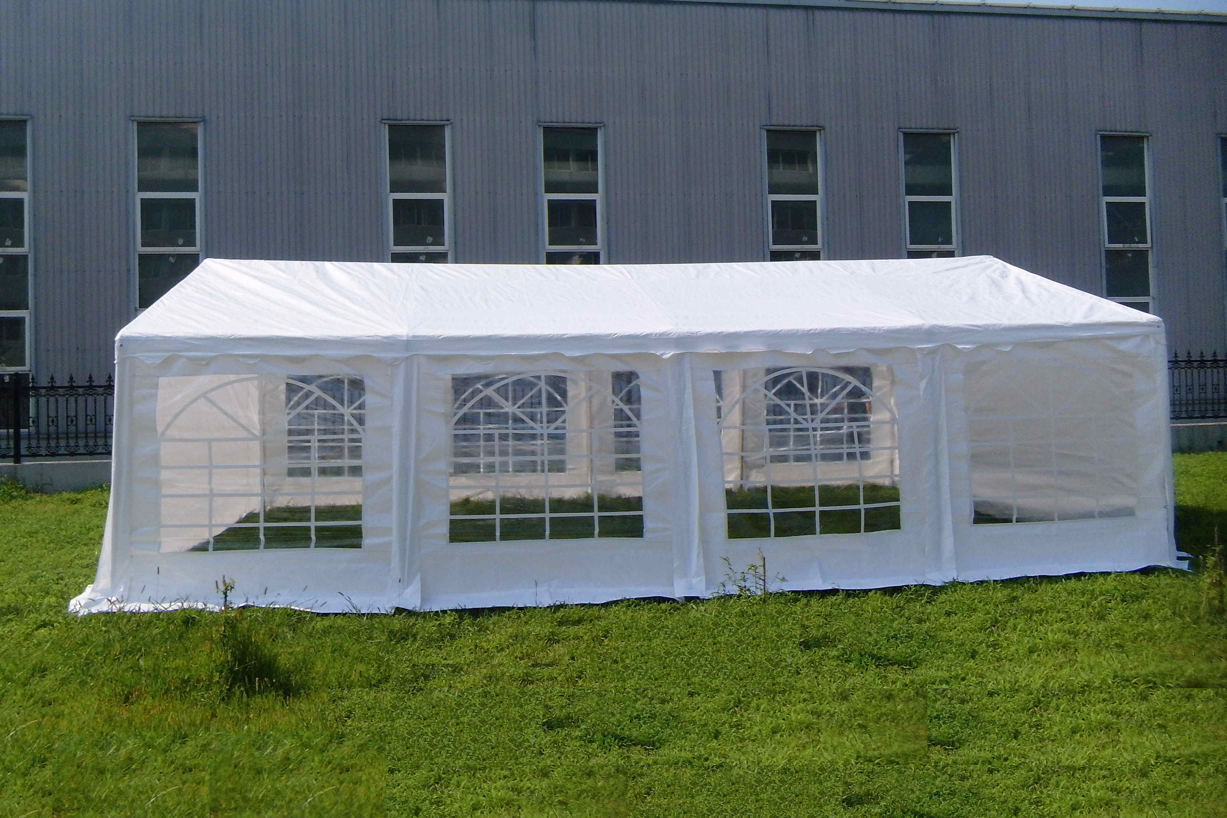 26 x 16 Ft Heavy Duty Commercial Party Canopy Car Shelter Wedding Camping  Tent
