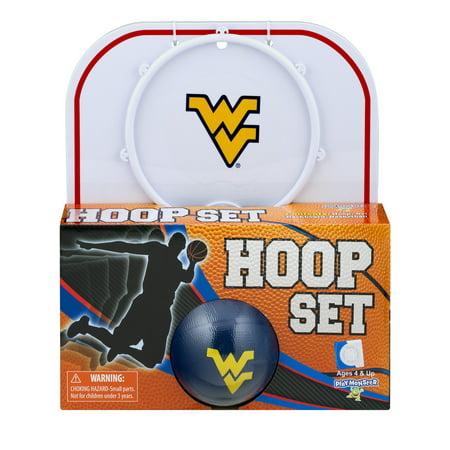 Officially Licensed NCAA West Virginia Hoop Set