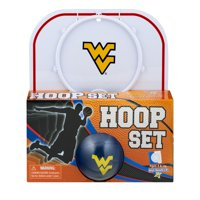 Officially Licensed NCAA West Virginia Hoop Set