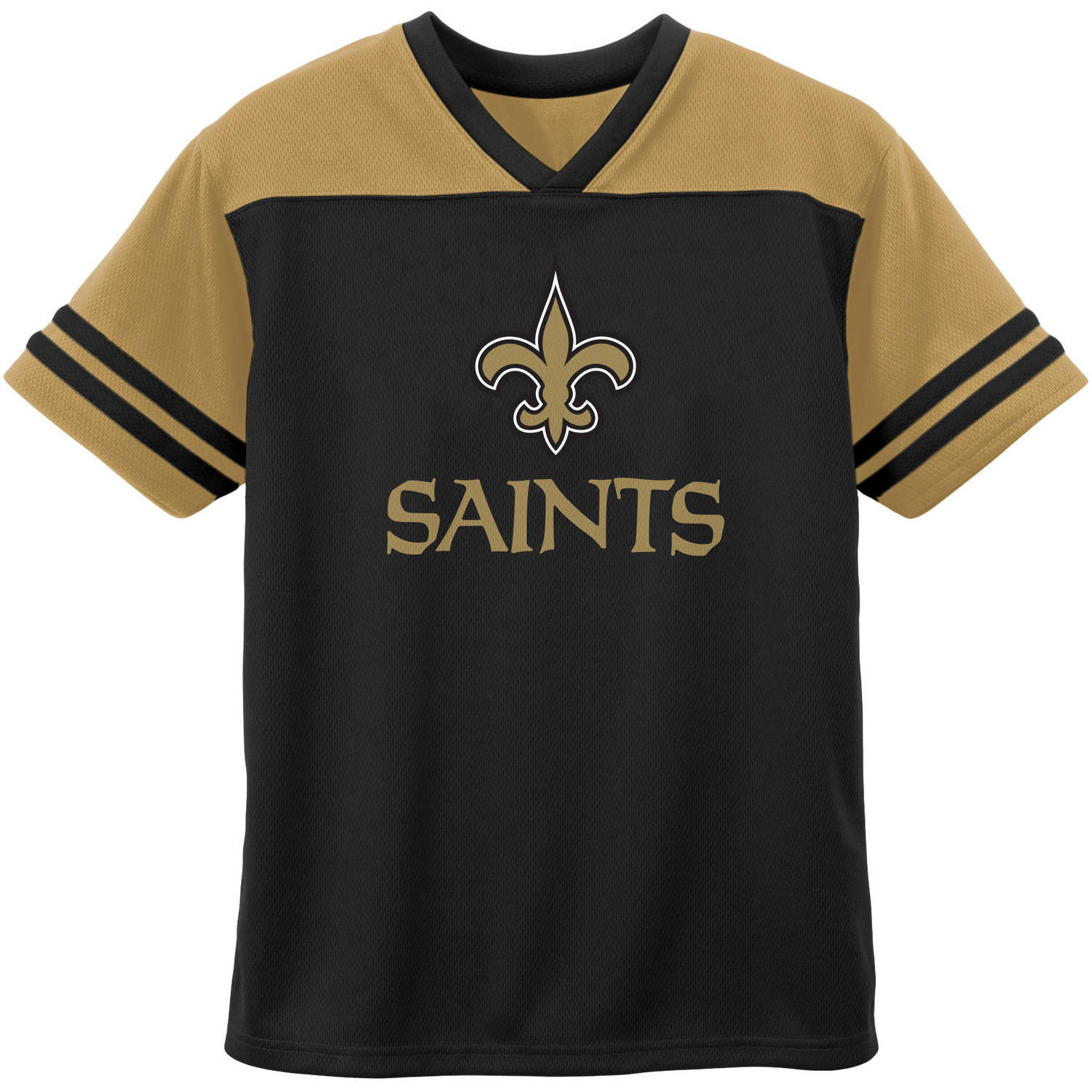 NFL New Orleans Toddler Short Sleeve Fashion Top