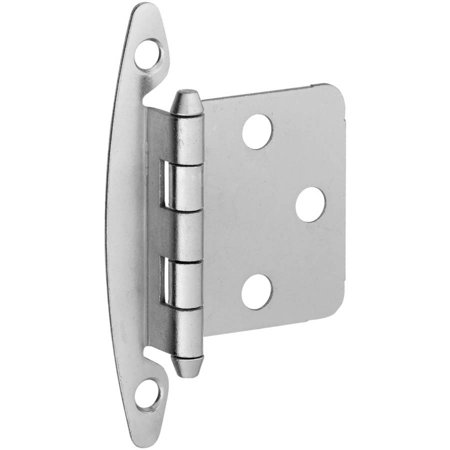 Stanley S826339 Satin Nickel Cabinet Hinge, 2 Count