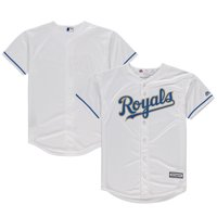 6e98ca3daf4 Product Image Kansas City Royals Majestic Youth Home Official Cool Base  Team Jersey - White