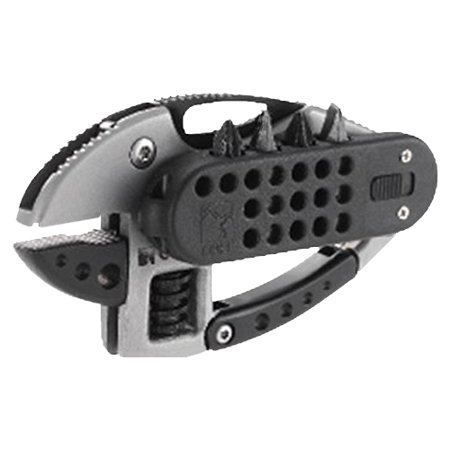 Crkt Guppie 9070 Pocket Multi-Tool With 8 Functions Including Adjustable Wrench And 2Cr13Mov Plain Edge Locking Blade With Carabiner And Pocket Clip Crkt Guppie Multi Tool