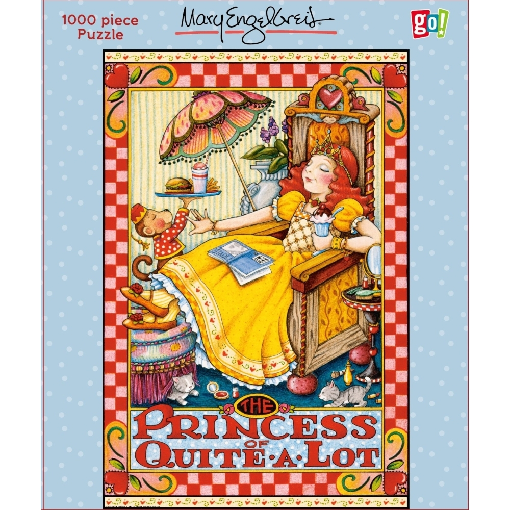 Engelbreit Princess of Quite a Lot 10,  Mary Engelbreit by Go! Games